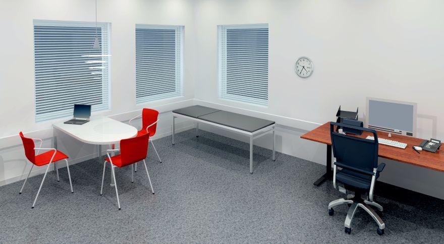 Indretning af konsultationsrum