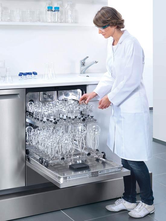 Valg af opvaskemaskine til laboratorier