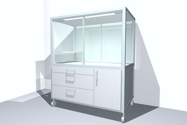 Webshop med laboratorieudstyr