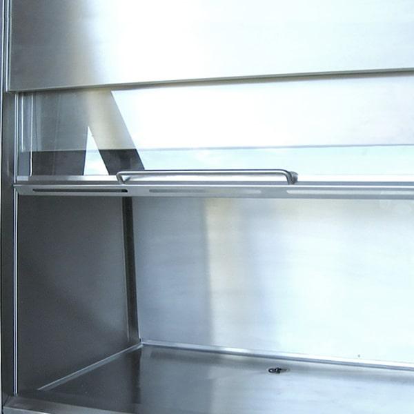 Rustfri kabine til isotopstinkskab