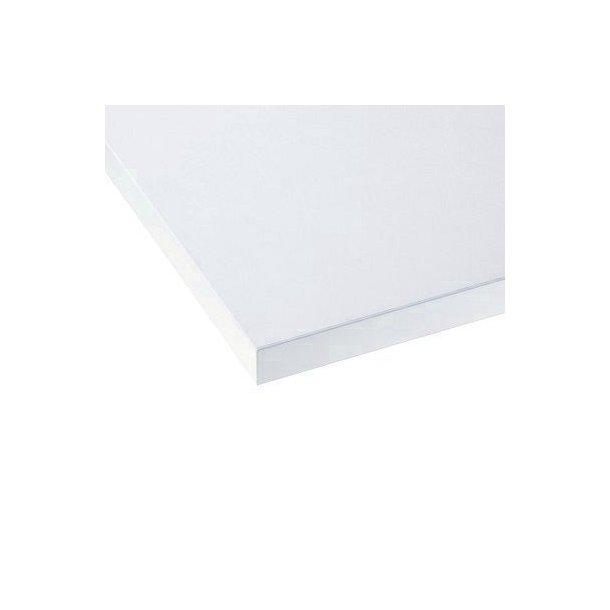 Laminat/ABS, hvid