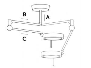Loftmontering af Acem SO15F