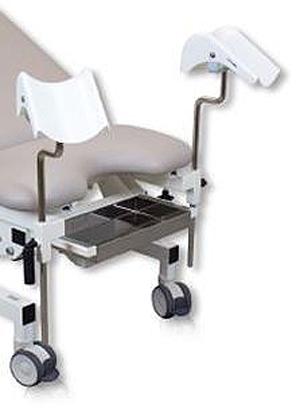 Stålskuffe til gynækologi-instrumenter