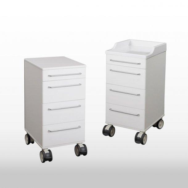 Klinikborde på hjul