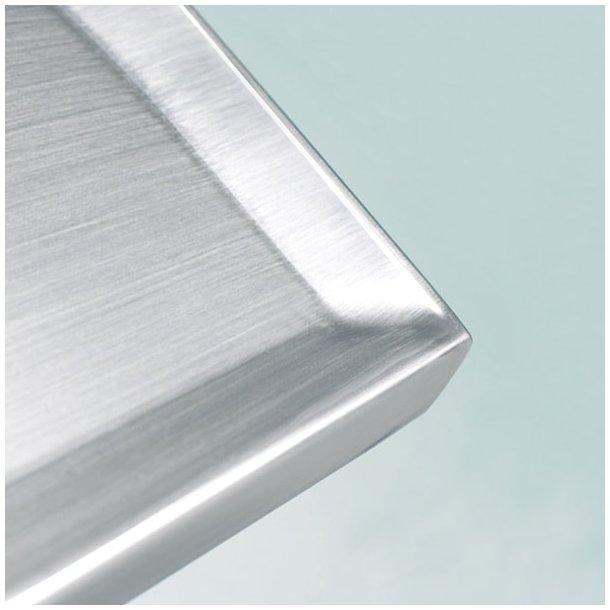 Rustfrit stål, vulstkant